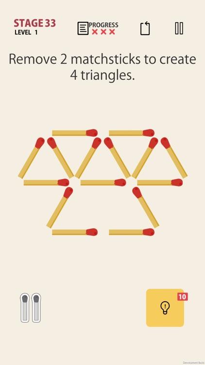 MATCHSTICK - matchstick puzzle