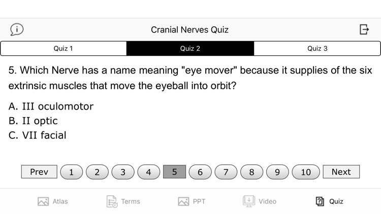 Cranial Nerves Plus screenshot-7