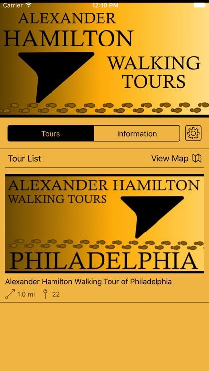 Alexander Hamilton Walking Tours