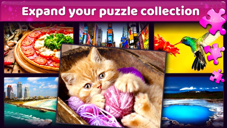 Good Old Jigsaw Puzzle HD screenshot-3