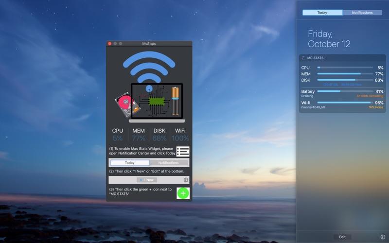 McStats Screenshot