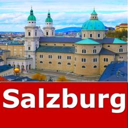 Salzburg (Austria) Travel Map