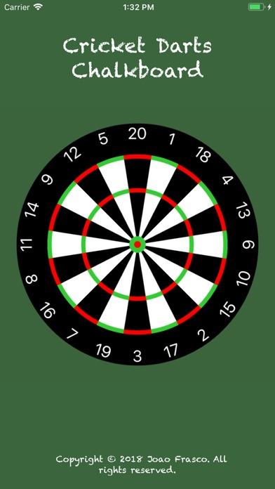 Cricket Darts Chalkboard App Voor Iphone Ipad En Ipod Touch