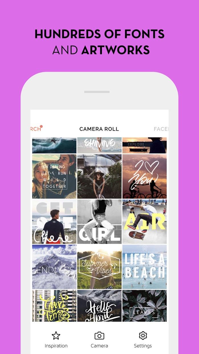 Font Candy Better Photo Editor Screenshot