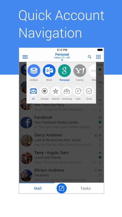 Screenshot #1 pour Blue Mail - Email Mailbox