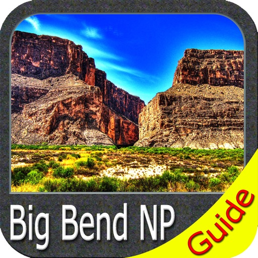 Big Bend National Park - GPS Map Navigator