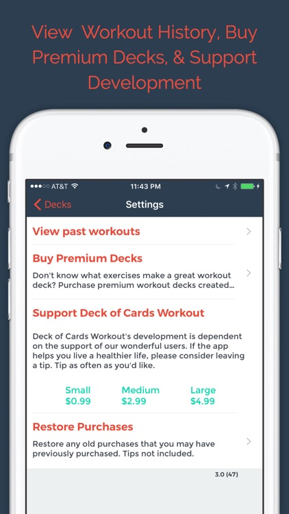 Deck of Cards Workout - WOD screenshot-3