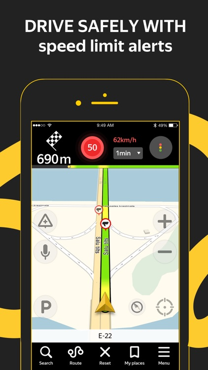 Yandex.Navi – navigation, maps screenshot-2