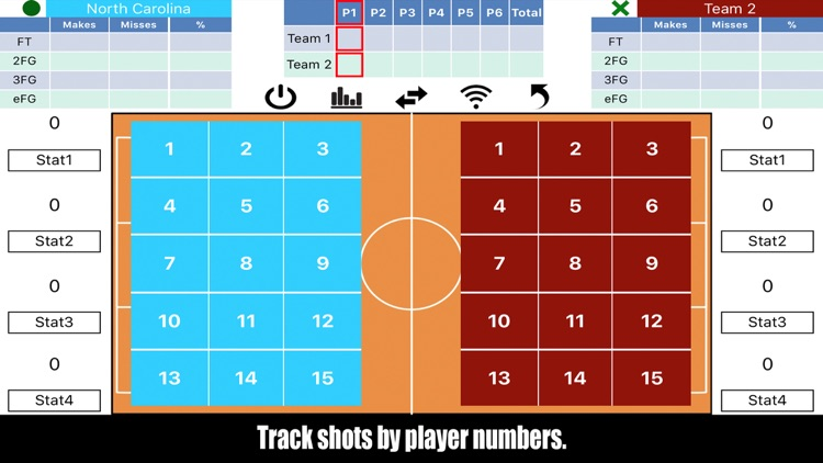 Tap Shots - Bball Shot Tracker screenshot-0