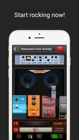 AmpKit+ guitar amps & pedals Screenshot