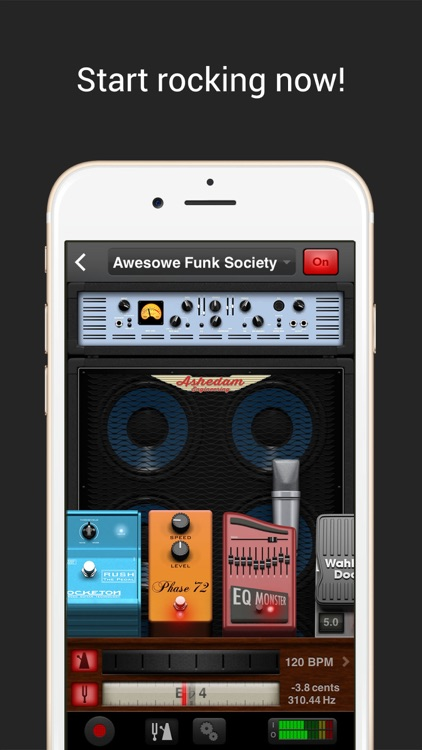 AmpKit+ guitar amps & pedals screenshot-4