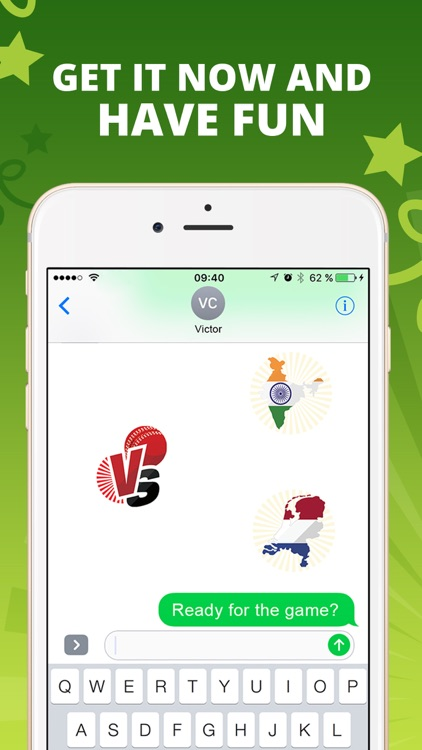 CricketMoji - Cricket stickers screenshot-4