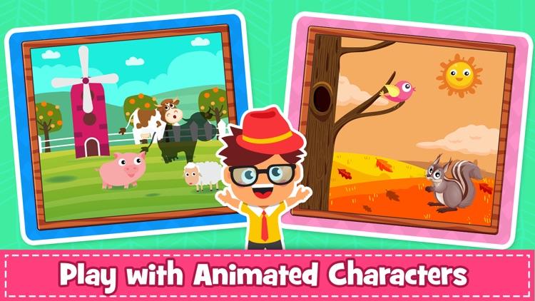 Kids Puzzle & Toddlers Games screenshot-5