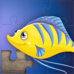 Ocean puzzles for kids and toddlers