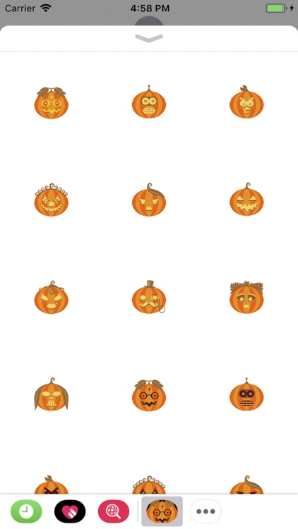 Jack-o'-lanter Sticker Pack