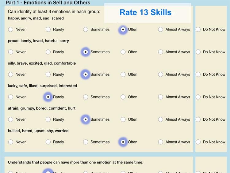 Pepi Assessment- Social Skills screenshot-3