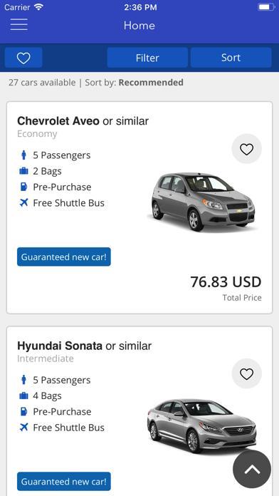 点击获取Airport Car Rentals