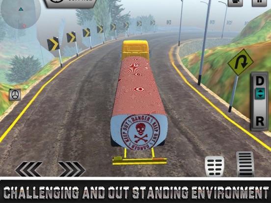Uphill Oil Tanker Driving screenshot 6