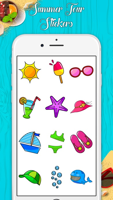 download Stylish Summer Stickers apps 1