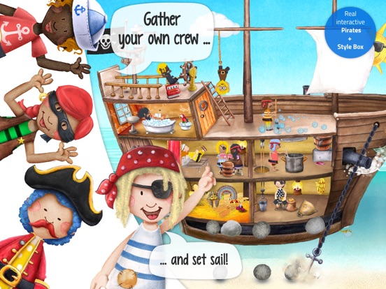 Tiny Pirates - Activity Book Screenshots
