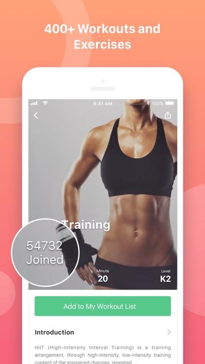 Keep: Fitness &Workout Trainer screenshot-0