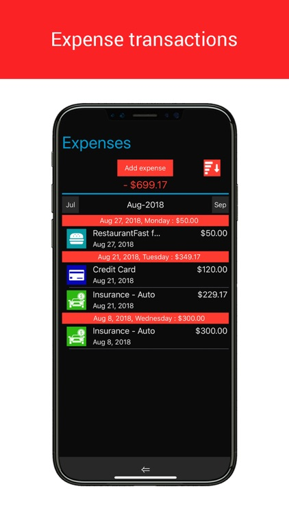 Home Budget Manager Lite screenshot-7