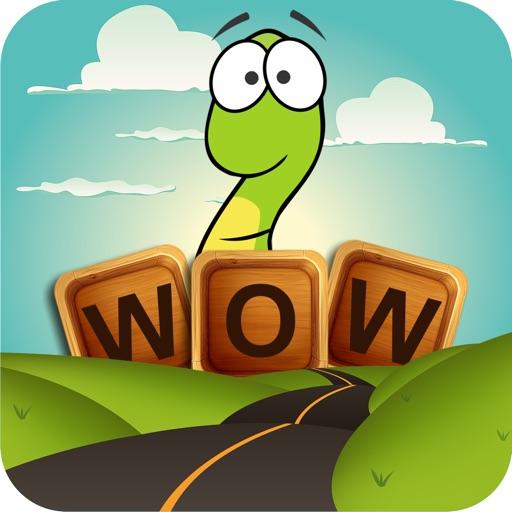 Word Wow Big City: Worm into a top word game saga!