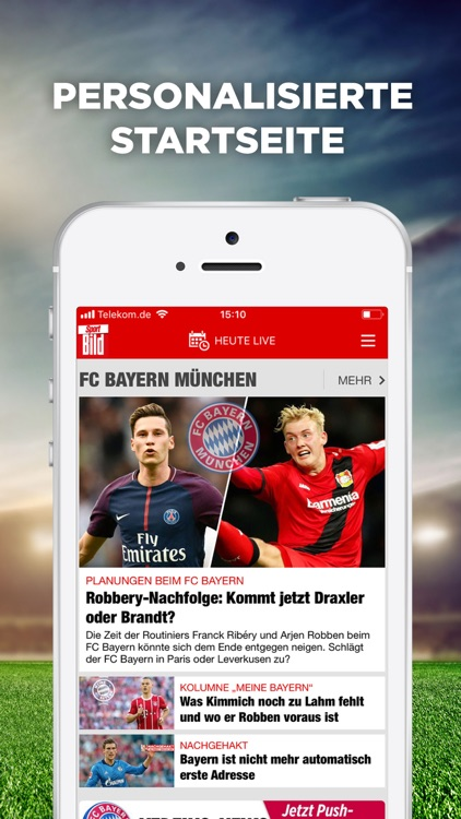 Sport BILD - Fussball & Sport screenshot-3