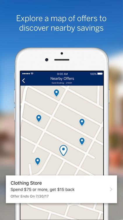 Amex Mobile screenshot-3