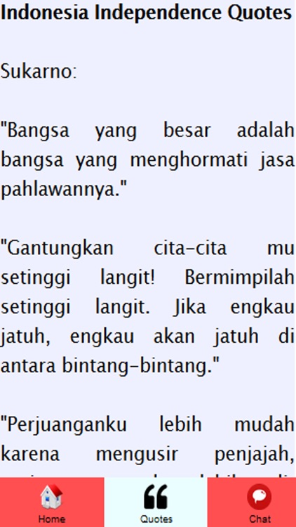 celoteh bijak independence day quotes