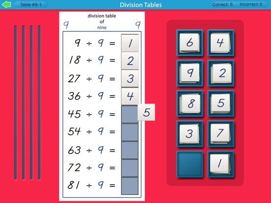 Montessori Division Tables screenshot 10