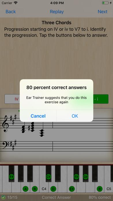 Ear Trainer review screenshots