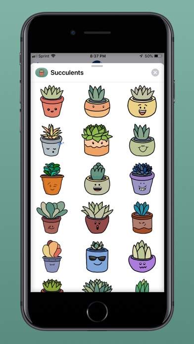 Succulent Emojis screenshot three