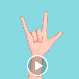 Animated Hand Sign