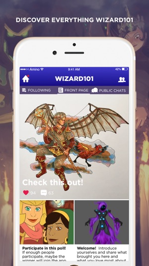 Wizzy Amino for Wizard101 on the App Store