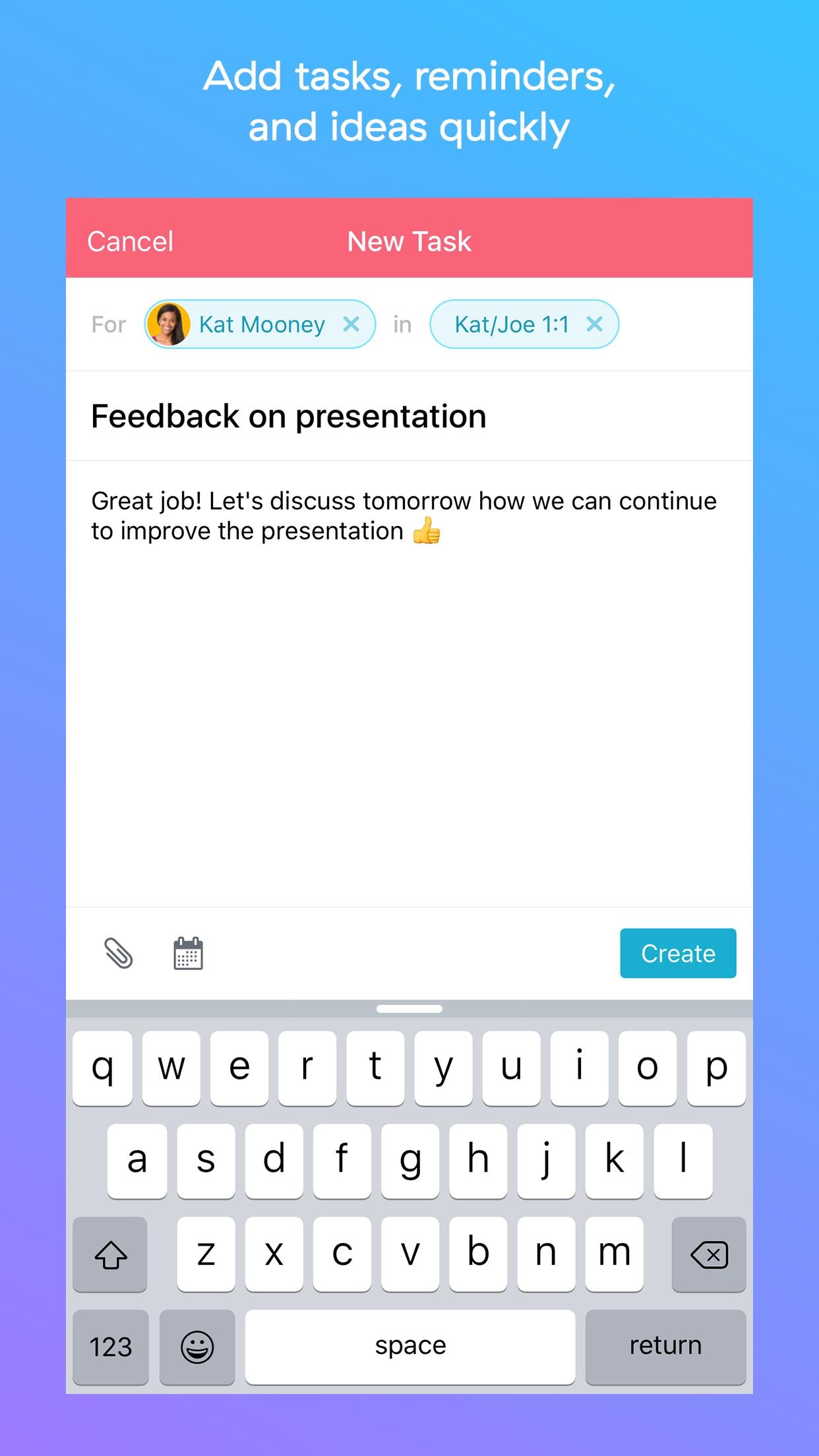 Asana: organize tasks & work Screenshot