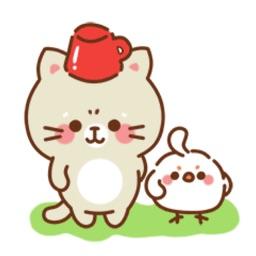 Manx Kitten Stickers Pack