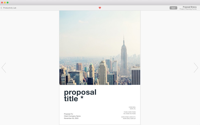Screenshot #5 for Print Lab: Templates for Pages