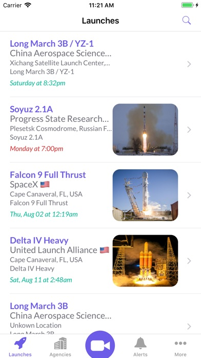 Liftoff: Track Rocket Launches screenshot one
