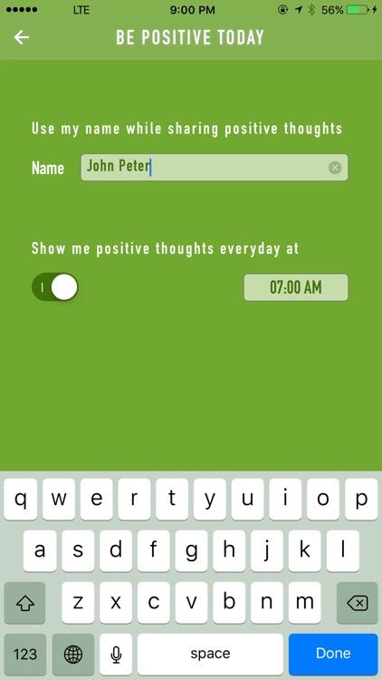 Positive Thinking Everyday
