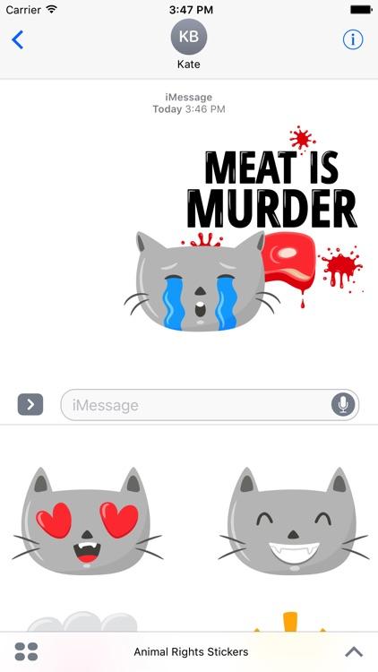 Animal Rights Stickers screenshot-3