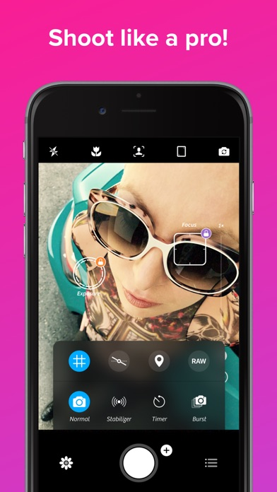 Screenshot for Camera+ Legacy in Qatar App Store