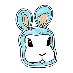 I Can Bunny Stickers