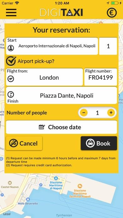 DigiTaxi The Taxi App screenshot three