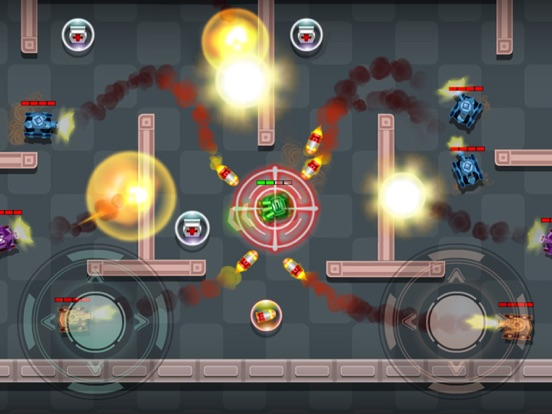 Tanks Fire Up:pocket wars hero-ipad-3