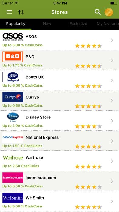 CashbackEarners.co.uk screenshot four