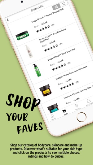 the bodyshop at home login