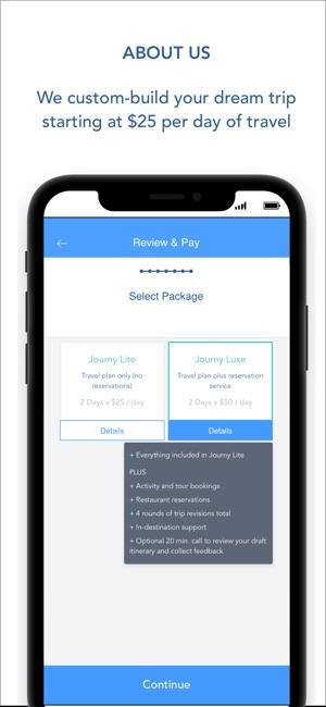 Journy: Custom Travel Planning on the App Store