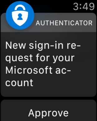 Screenshot #6 for Microsoft Authenticator