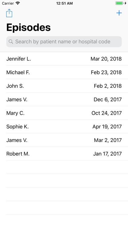 PJI Database screenshot-4